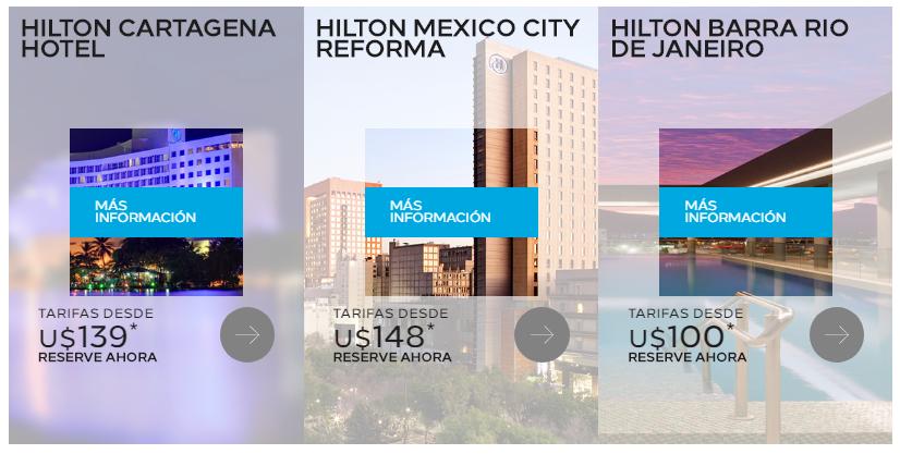 Hilton reservas