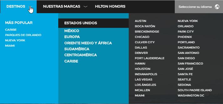 Hilton ofertas