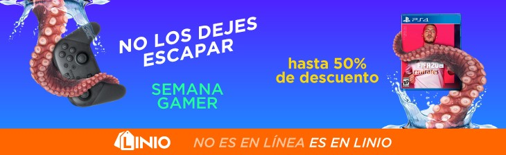 Semana Gamer Linio Perú %{year}