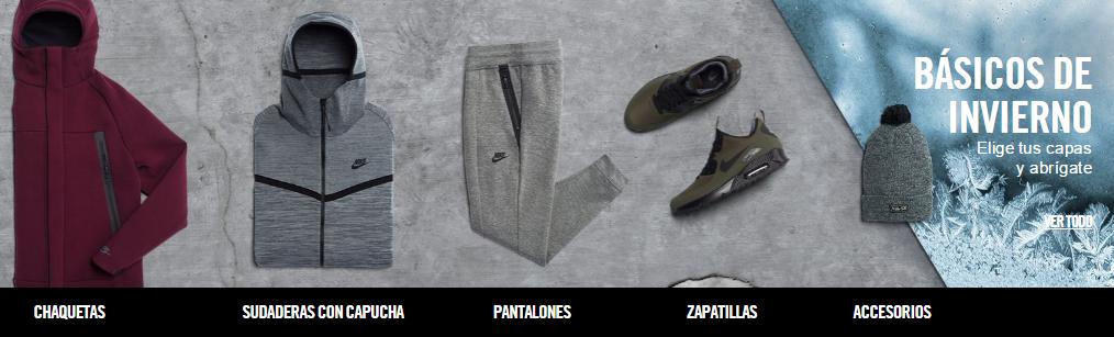 Ofertas invierno Nike